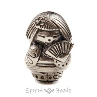 Spiritbeads Kokeshi's Fan Limited Edition