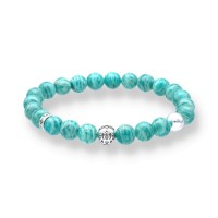 Spiritbeads Beadsarmband Amazonit Lotus