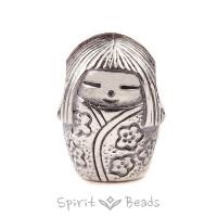Spiritbeads Kokeshi 2.0 Silber