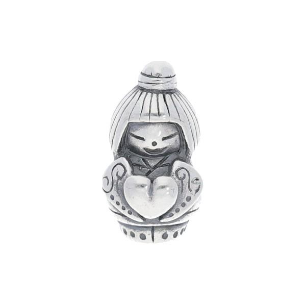 Spiritbeads Kokeshi Love Silber