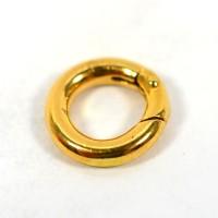 Spiritbeads Adapterclip für Ketten Silber vergoldet