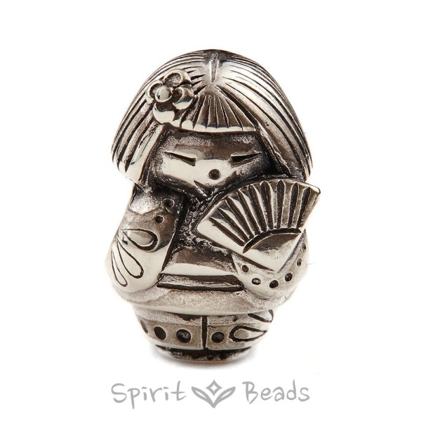 Spiritbeads Kokeshi's Fan Limited Edition